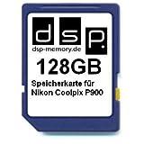 DSP Memory Z-4051557429253 128GB Speicherkarte für Nikon COOLPIX P900