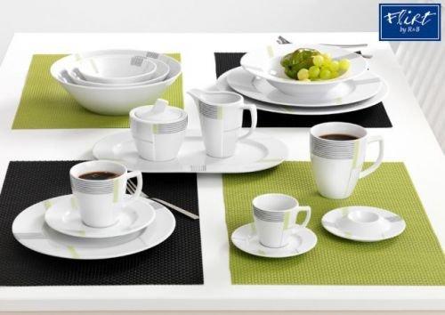 Via by R&B Geschirr-Serie Vertigo Material Milch&Zucker Set 2 tlg. Vertigo