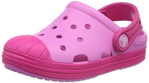 crocs Bump It Clog Kids, Unisex - Kinder Clogs, Pink (Party Pink/Candy Pink), 28/29 EU