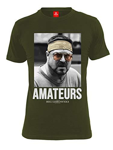 The Big Lebowski Walter Sobchak - Amateurs T-Shirt Oliv XXL -