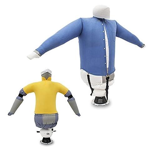 EOLO RepaSSecheur SA03 _ Repasse et séche automatiquement les chemises, chemisiers, polos, .... avec air chaud. Rafraîchit vêtements avec air froid. [Classe énergétique A++]
