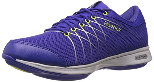 Reebok Classics Women's Purple and Green Mesh Gymnastics Shoes – 6.5 UK 414KPcq 2B1sL