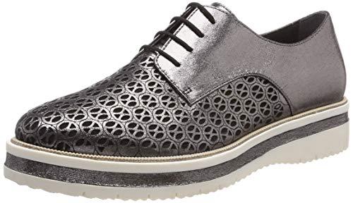 Tamaris Damen 1-1-23753-22 Sneaker, Silber (Pewter 915), 39 EU