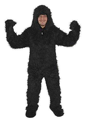 GORILLA OFFEN KOSTÜM GR XL-XXL FASCHING KARNEVAL HALLOWEEN AFFE - Kostüm Halloween Erwachsene Affe Für