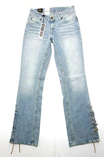 Lee Stringleg vita bassa jeans Nuovo Tg.41 W27 L33 vintage Donna