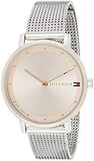 Tommy Hilfiger Women's Carnation Gold Dial Stainless Steel Watch - 178
