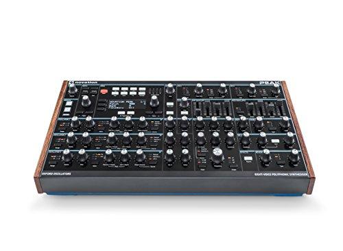Novation Peak - Sintetizador de escritorio (polifónico, 8 voz)