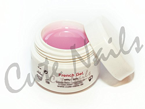 30 ml Colles Gel Milky Rose – laiteux – Cute Nails