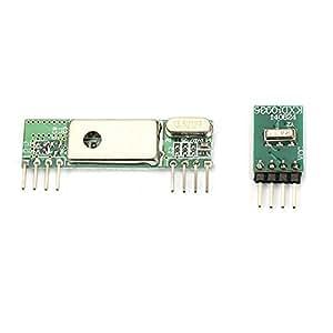 Ils - Superheterodyne 3400 Wireless Receiver Module with 433RF Transmitter Board