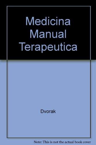 Medicina manual : terapeutica