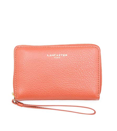 Lancaster Paris Damen 12917Potimarr Orange Leder Brieftaschen