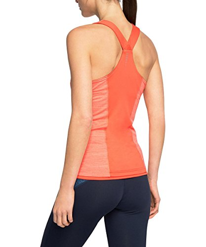 ESPRIT Sports Damen Sporttop Rot (CORAL 2 646)