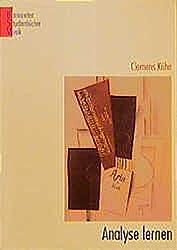 Analyse lernen. by Clemens Kühn (2002-04-01)