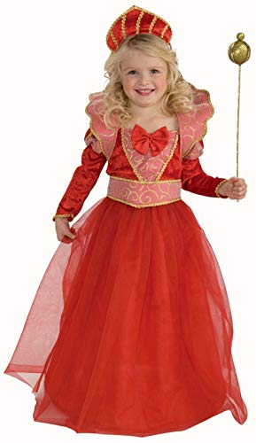 Forum Novelties Ruby Queen Costume, Toddler Size