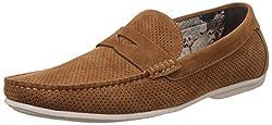 Carlton London Mens Mahlon Camel Loafers and Mocassins - 8 UK/India (42 EU)(CLM-1265)