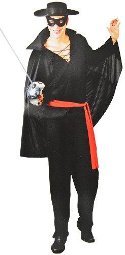 Cooles Zorro Dieb Bandit Kostüm-Set! 5 Teile!