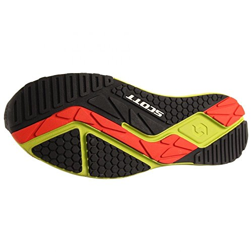 Scott AF+ Trainer Road Running Shoes Red/Green Mens UK 7.5 Red
