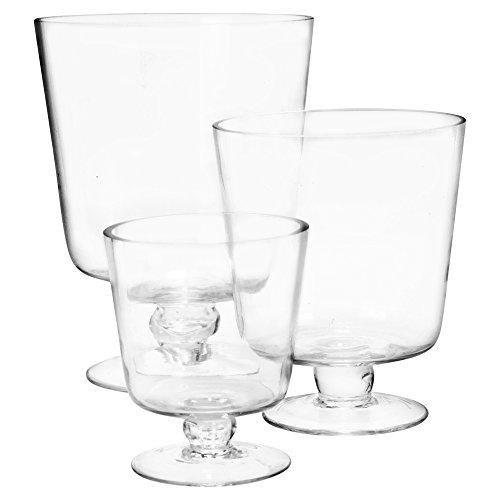 URBNLIVING Hurricane Glas-Set, 3-teilig