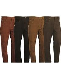 Pantalones de cuero boocut para hombres, pantalones de cuero pantalones de piel Para Mujeres Ladies- Hombres Mujeres Motocicleta, Moto, bicicleta, montar a caballo, caza marrón negro rojo verde