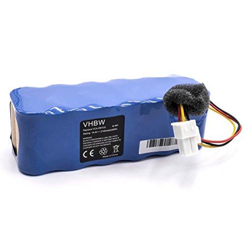 vhbw Akku passend für Samsung Navibot SR8840, SR8845, SR8855, VCR8845, VCR8895 Staubsauger ersetzt VCA-RBT20 (2100mAh, 14.4V, NiMH)