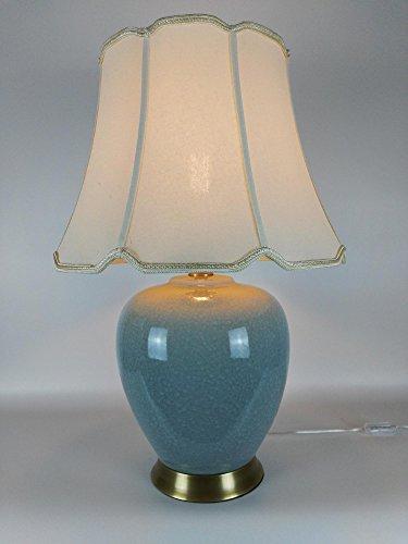 BBSLT Zucca Hotel lampade in ceramica ceramica lampada in rame modello di progettazione al fine di stile Cinese lampada da