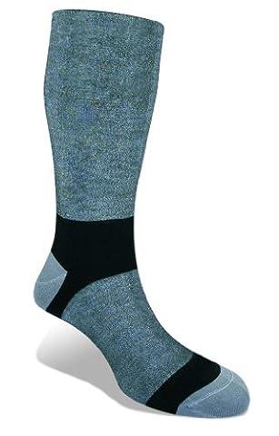Bridgedale–Chaussettes pour hommes, lot de 2 paires M gris