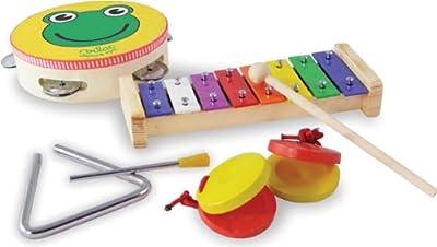 Vilac 8293 - Set de instrumentos musicales de madera por Vilac