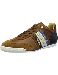 Pantofola d'Oro Pesaro Prep Low - Brogue de cuero hombre, color marrón, talla 42