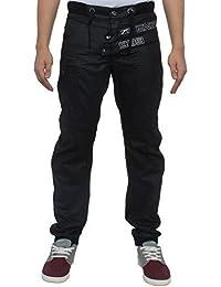 ENZO Hommes Collerette De Jambe Jeans Jeans Jogging Pantalon Tour De Taille 28-48