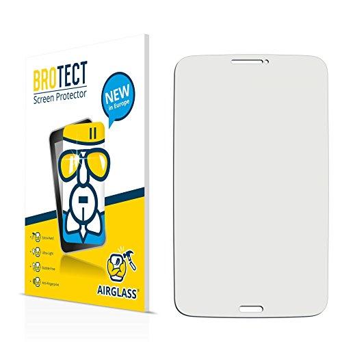 BROTECT AirGlass Flexible Glasfolie für Samsung Galaxy Tab 3 (8.0) LTE SM-T315 Schutzfolie klar, Glas Folie – Extrahart, Ultraleicht, Transparent