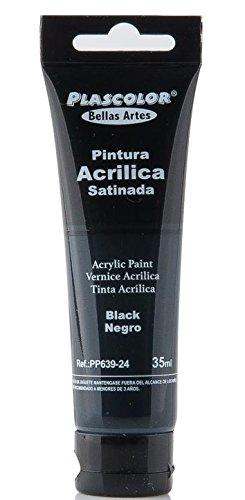 plascolor pp639-24-Acrylfarbe, 35ml, schwarz