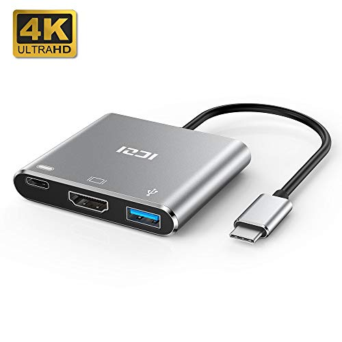 ICZI Nuevo Modelo Jun 2019 Adaptador USB Tipo C HDMI