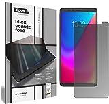 dipos I Blickschutzfolie matt passend für Lenovo K5 Pro Sichtschutz-Folie Bildschirm-Schutzfolie Privacy-Filter