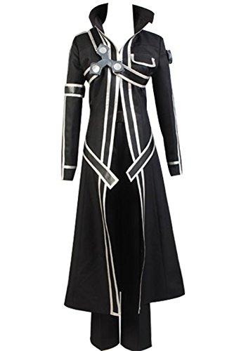 Manfu Sword Art Online Kazuto Kirigaya Cosplay Kostüm Herren ()