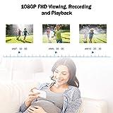 ANNKE WiFi Überwachungskamera-Set 8CH 1080P Wireless NVR System mit 4PCS 1080P WLAN Außen Kamera und 1TB Festplatte eingebaut für Innen und Außen, Onlinezugriff, Bewegungserkennung mit E-Mail-Alarm - 5