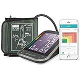 1byone Misuratore di Pressione da Braccio Digitale, Monitor Wireless per App...