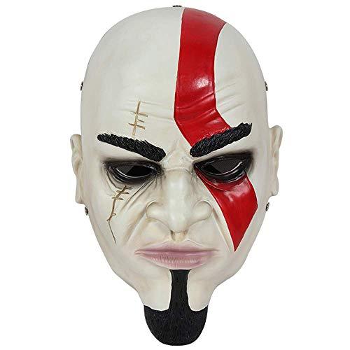 Halloween Horror Requisiten God of War Rückkehr Maske Spiel Anime Movie Umgebung Harz-Maske Dekorationen ()