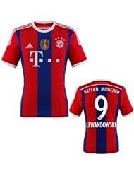 FC Bayern Lewandowski Trikot Home 2015 WC, XXL