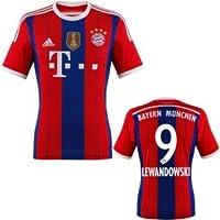 FC Bayern Lewandowski Trikot Home 2015 WC, S