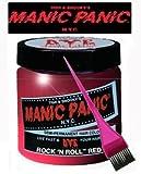 Manic Panic Haarfärbemittel, vegan, Haar Dye–Rock 'n' Roll Rot & Pink Tint Bürste
