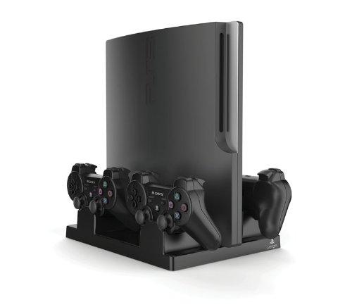 Vertical Charging Stand Offiziell Lizenziertes pour PS3 [Importación Francesa]