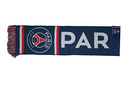 psg-écharpe Supporter Paris Saint germain-bleu-mixte adulto niño