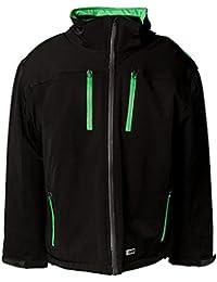 """Planam Jacke """"Winter Drift"""" Größe XXL in schwarz/grün, 3620060"""
