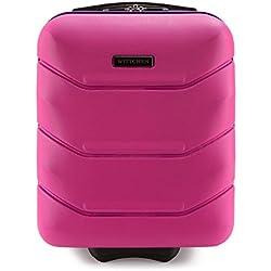 WITTCHEN Bagage à main, chariot, valise cabine | Coleur: Rose | Dimension: 32x25x42 cm | Capacité: 25 L | ABS - 56-3A-281-60