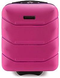 WITTCHEN Bagaglio a mano, Valigia, Trolley cabina   Colore: Nero, Rosa, Blu, Bianco   Materiale: ABS   Dimensioni: 25x42x32   Peso: 2 kg   Capacità: 25 L