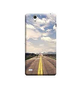 Ebby Premium Designer Back Cover for Sony Xperia C4 (Designer Case)