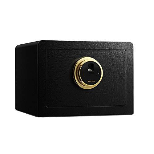ZZHBXG Tresore Kleine 25 cm Digitale Safe, Haushalts Mini Fingerabdruck Passwort Box Büroschrank Verdicken Diebstahlsicherungen mit Tastatur Sicherer Schrank