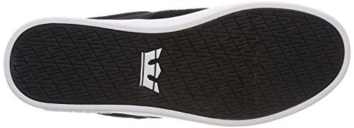 Supra Herren Stacks II Sneaker Schwarz (Black/Grey-White)