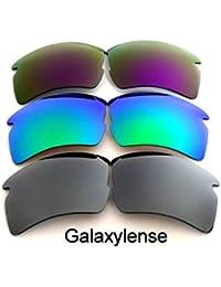 Lentes De Repuesto Para Oakley Flak 2.0 XL Polarizados plata y verde y  púrpura - Transparente 05beb6a83f