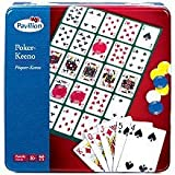 Pavilion Games: Poker-Keeno Set in Tin by Toys R Us